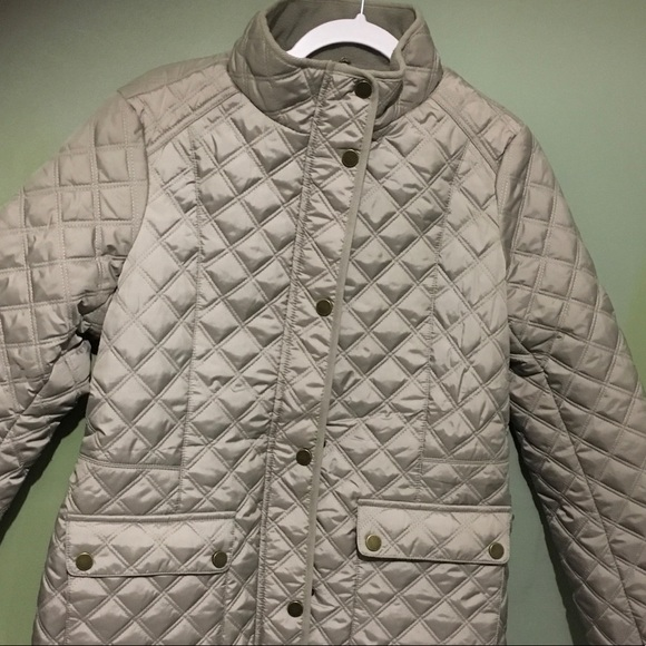 14975b76e Lucky brand women's insulated quilted barn jacket NWT